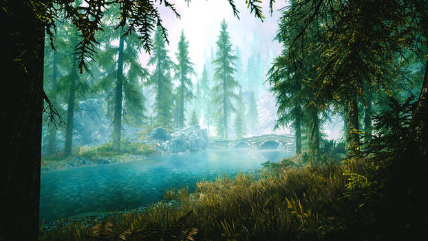 Emerald Dream - Skyrim by WatchTheSkiies