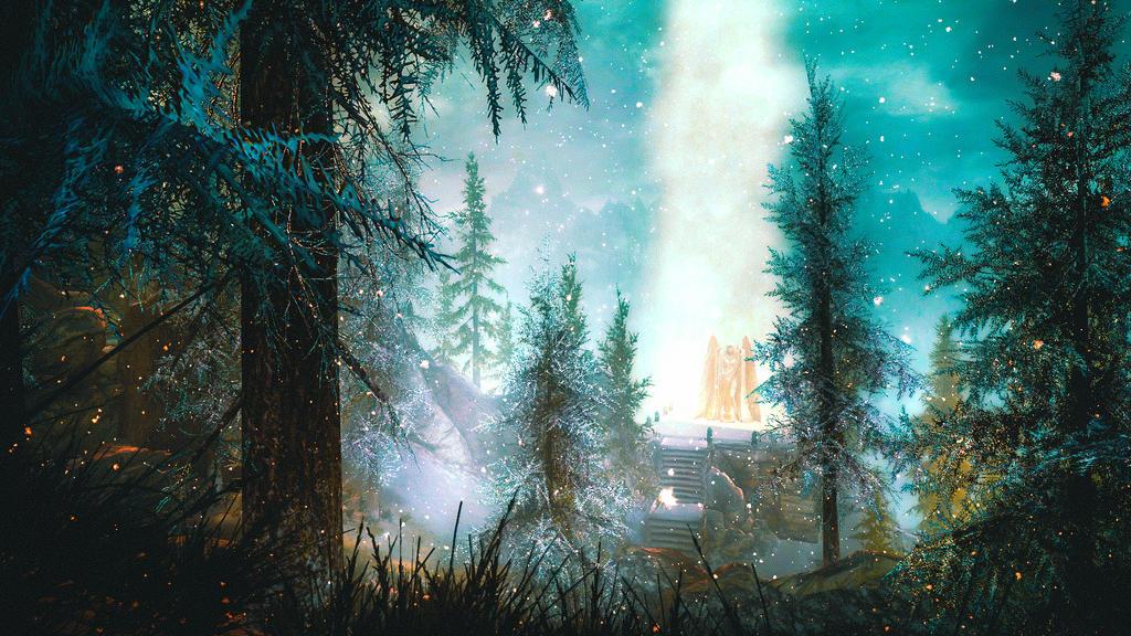 Cleansing Light - Skyrim by WatchTheSkiies