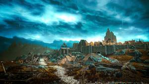 Whiterun II - Skyrim by WatchTheSkiies