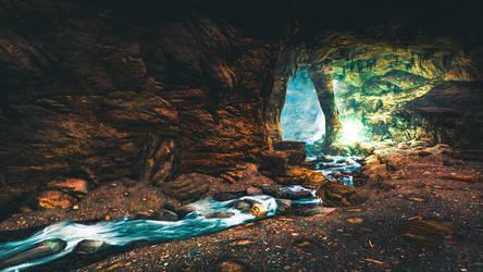 Bleak Falls Barrow - Skyrim by WatchTheSkiies