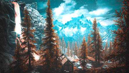 Red Forest II - Skyrim by WatchTheSkiies