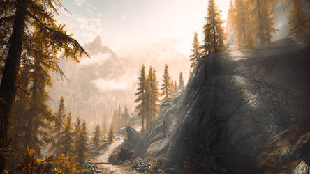 Basho's Journey - Skyrim by WatchTheSkiies