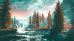 Red Forest IV - Skyrim by WatchTheSkiies