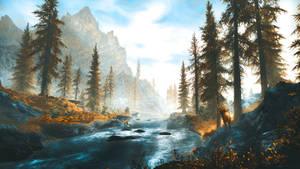 White River - Skyrim