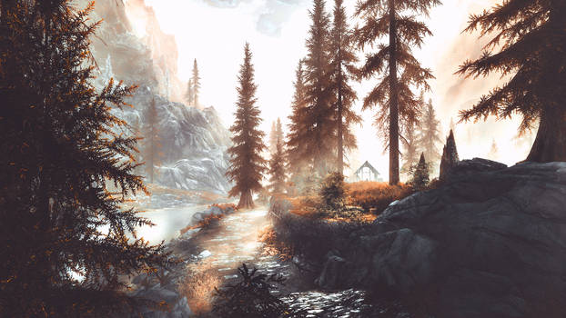 A Quiet Place - Skyrim by WatchTheSkiies