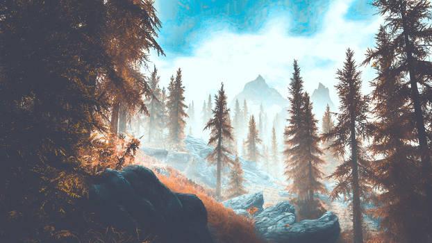 A Quiet Place II - Skyrim
