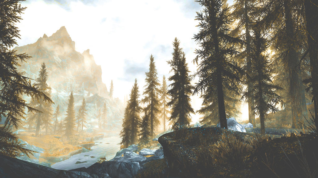 A Quiet Place III - Skyrim