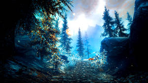Still The Wind Blows, Calm and Silent - Skyrim