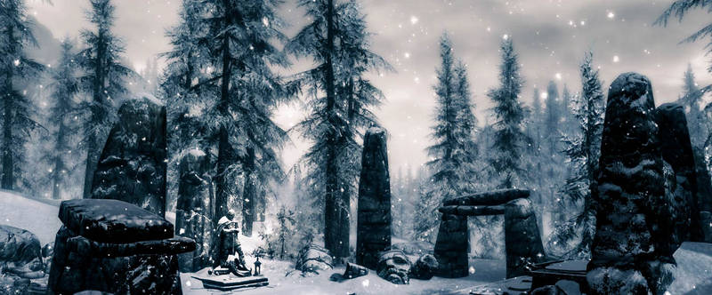 Steadfast As Winter - Skyrim