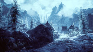 You Arrive In a New Town - Skyrim