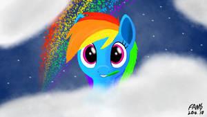 Rainbow and Dashie