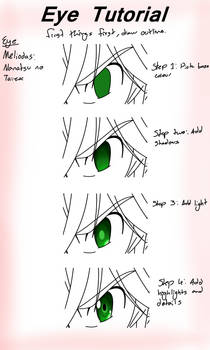 Meliodas Eye Tutorial