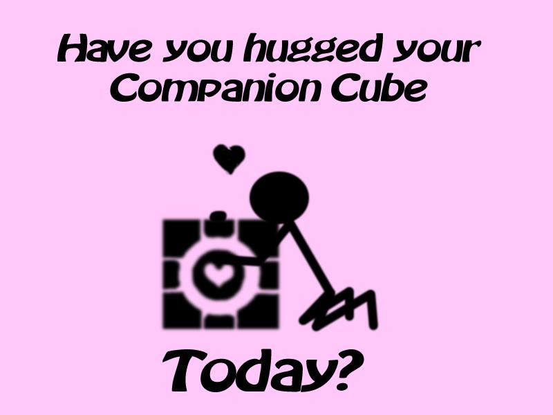 Hug by CompanionCubePlz