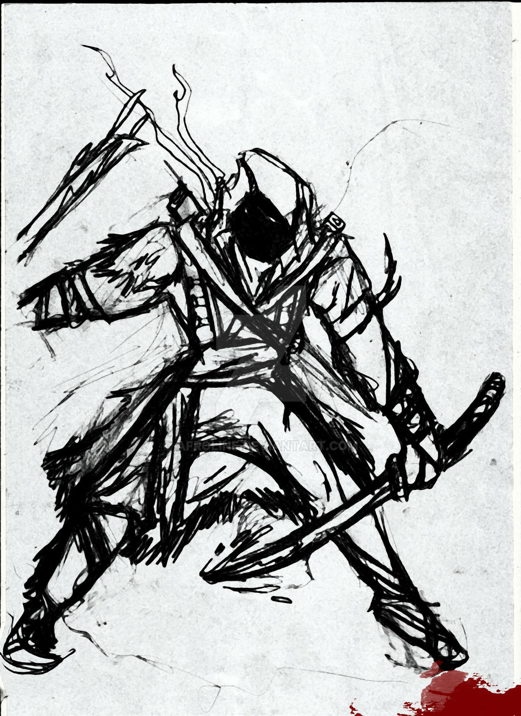 Ninja Assassin S Creed By Afroline On Deviantart