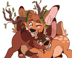 oooh trans!bambi x ronno