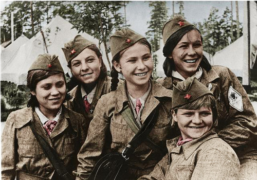 Soviet Union At Russian Women 120