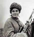 Pavlichenko russian female sniper WW2