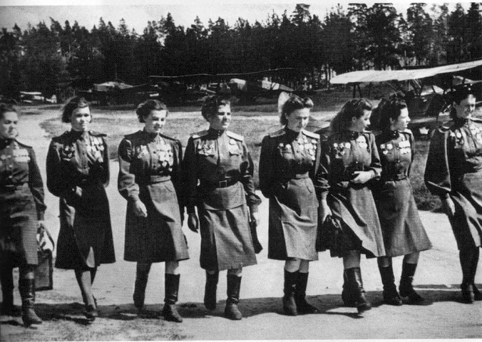 Russian 588th Night Bomber Regiment WW2 by UniformFan