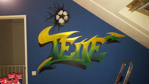 Wallpainting for my nephew