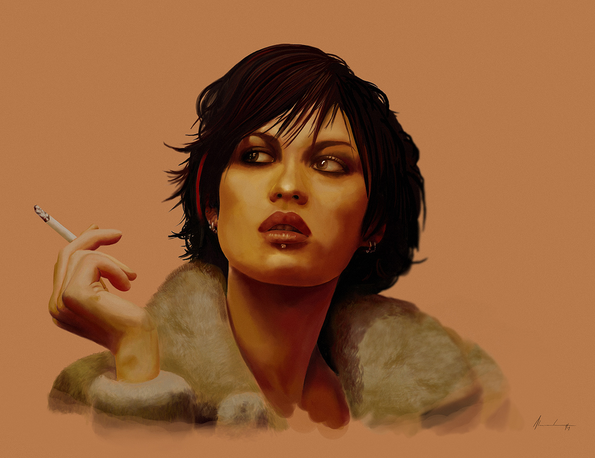Olga Kurylenko by AlexanderCasteels on DeviantArt