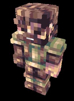 ''Adventurer'' Minecraft Skin