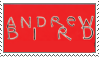 Andrew Bird Stamp by mouseorgans