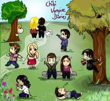 Chibi Vampire Diaries by K-Aliasgar