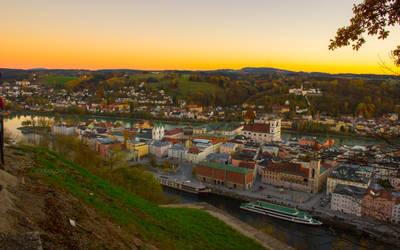 Landscape # Passau, Donau