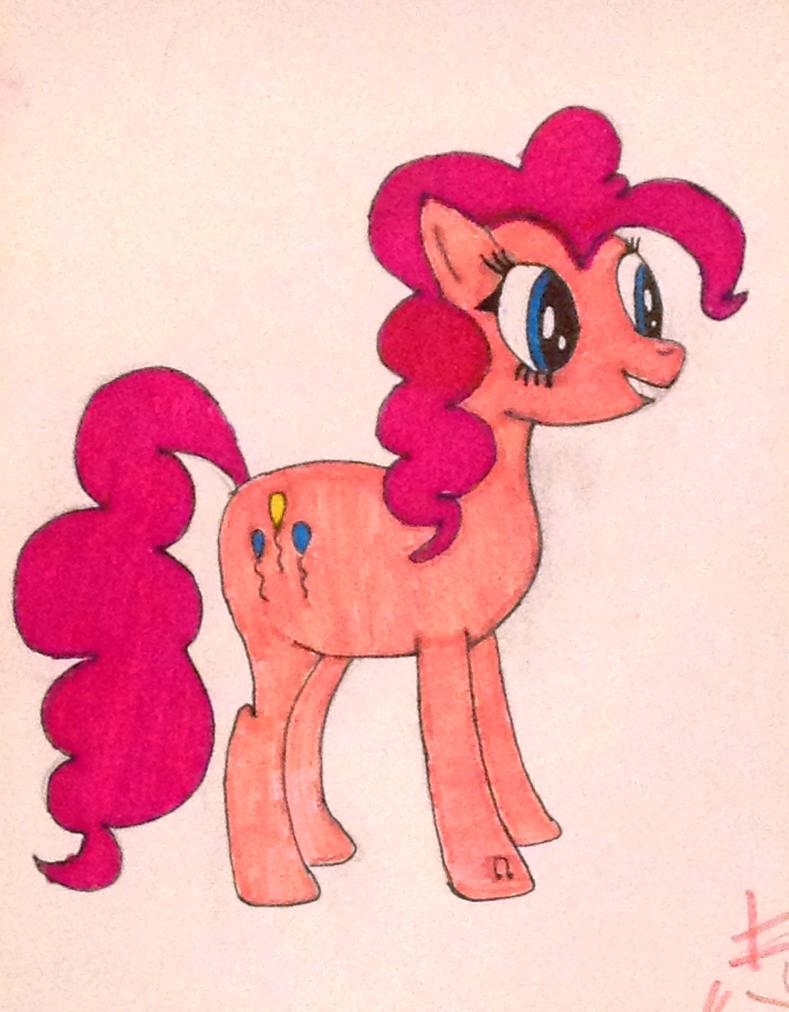My First Pinkie Pie by AstieBean