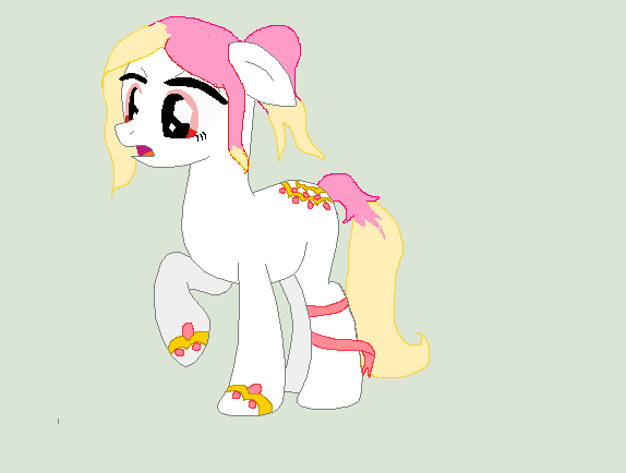 Laced Themed Pony Custom (For Chocolate-Opals) by AstieBean