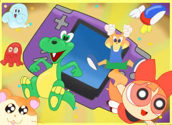 Game Boy Advance by drakonos85