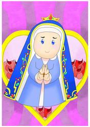 Nossa Senhora Aparecida by drakonos85