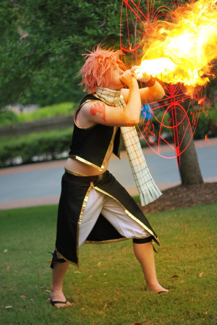 Fairy tail cosplay natsu
