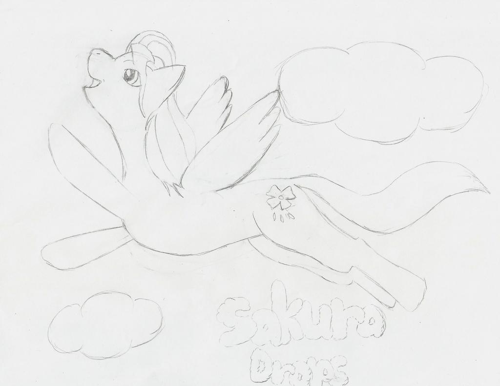 Elf Wishlist Gift for Ashie-kins Sakura Drops by animefangirlkatewolf