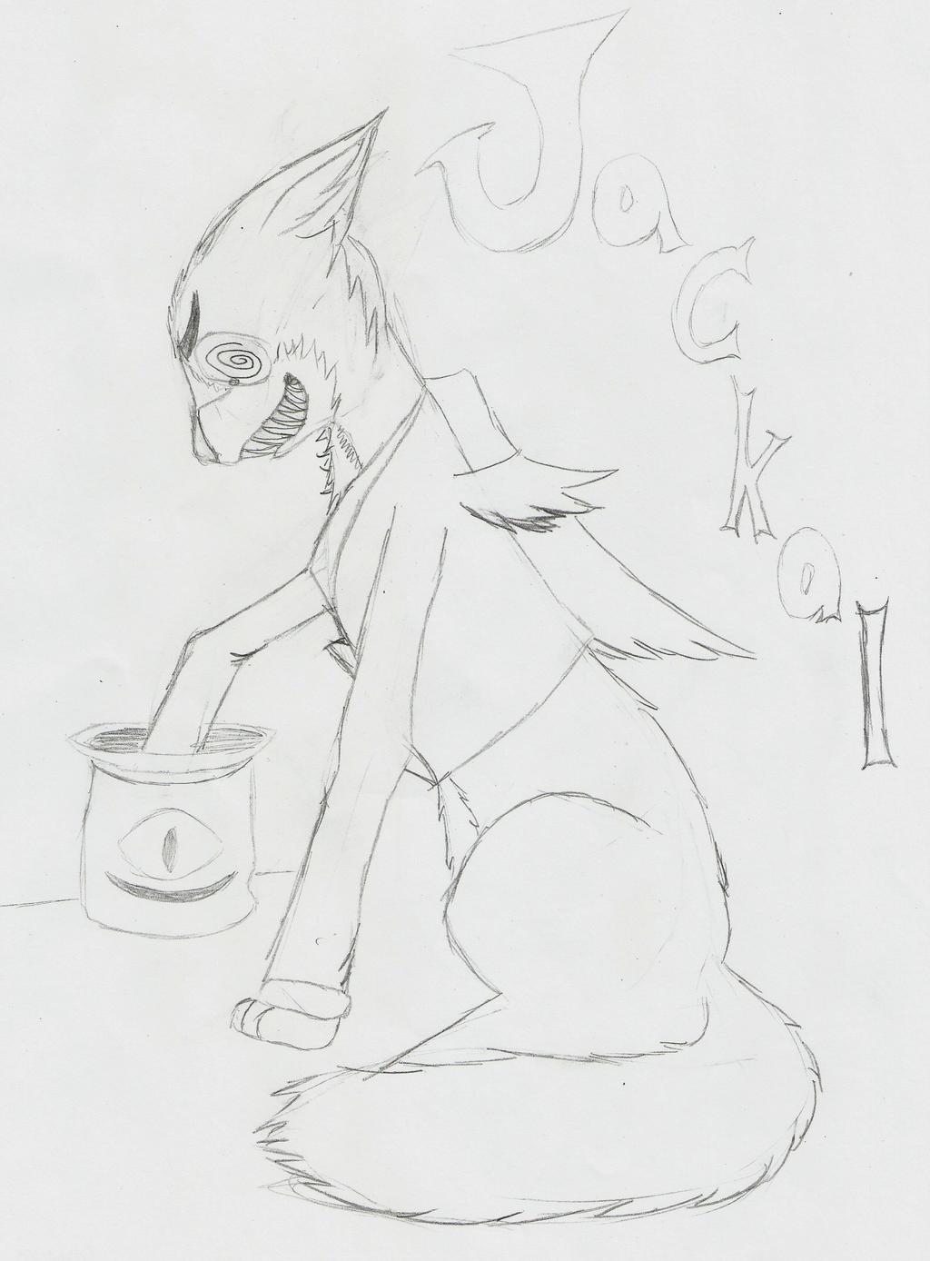 Elf Wishlist Gift for Cazicomi Jackal by animefangirlkatewolf