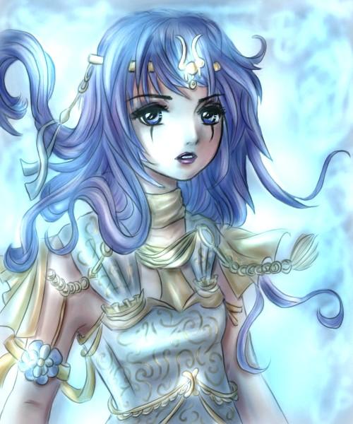 blue shine by Yunaleskaa