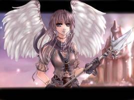 The guardian by Yunaleskaa