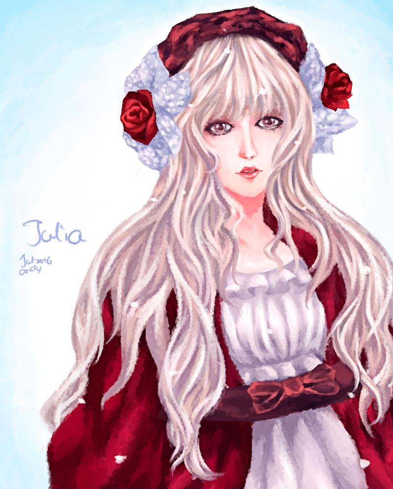 Julia the doll by LightyOle