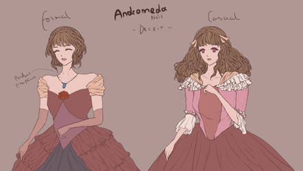 Character design: Andromeda by LightyOle