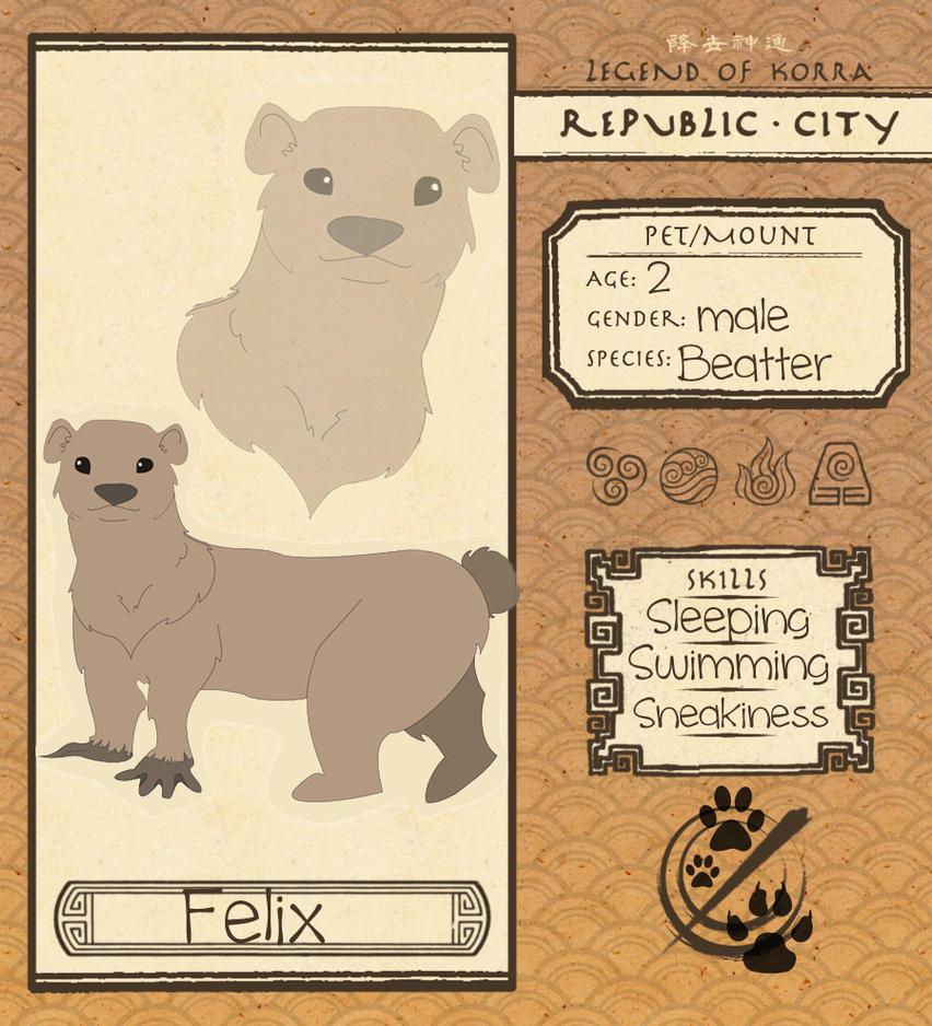 Republic City Pet Application by grlnxtdr6