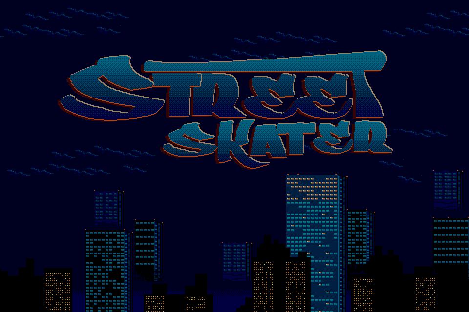 Street Skater Game Logo by UberVestigium