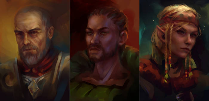 Enderal characters #2