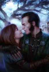 The mercenary and the vampire
