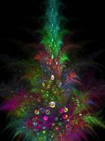Christmas Tree by mynameishalo