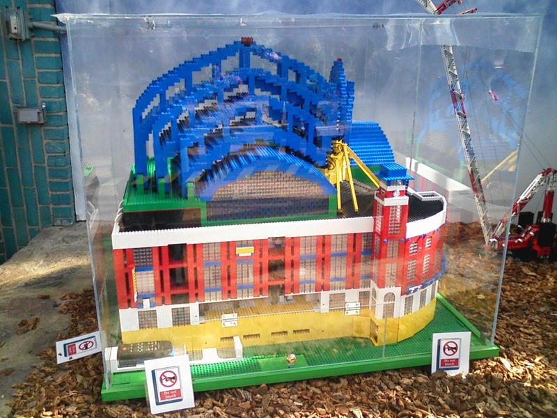 Lego Miller Park by Juputoru