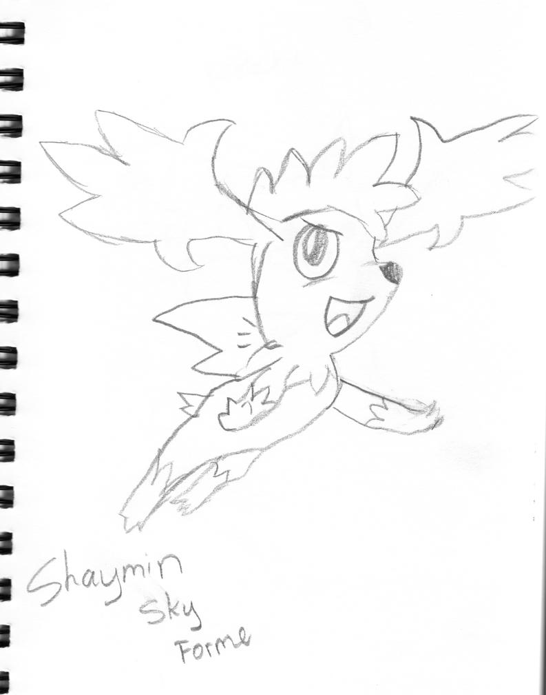 pokemon coloring pages shaymin photo30
