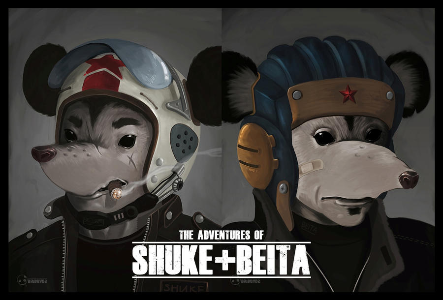 The Adventure of Shuke and Beita by bitboydz2