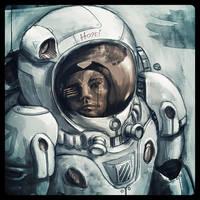 Astronaut Hope by bitboydz2