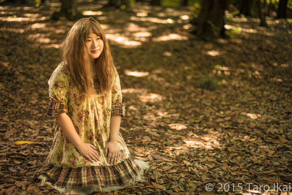 Mori Fashion: Girl in the Woods by matcha-au-lait