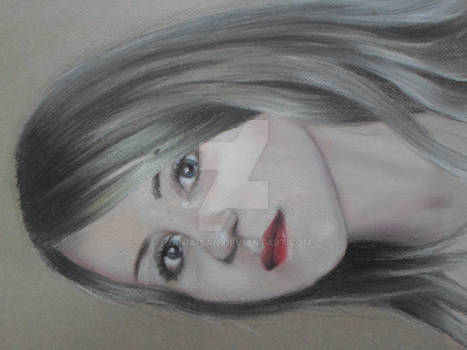First attempt to draw an auto-portrait